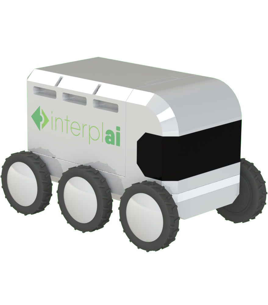 Interplai is creating the world's most efficient last-mile delivery solution using smart collaborative robots and software.